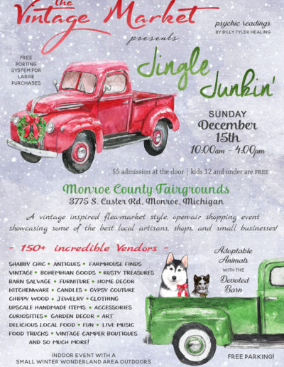 The Vintage Market 2019 Jingle Junkin' v5