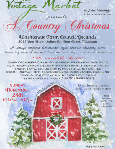 The Vintage Market 2019 a Country Christmas